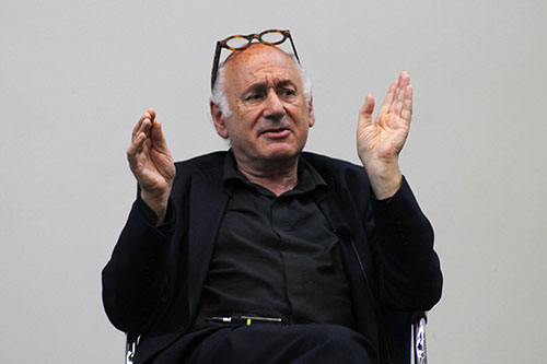 Celebrated composer Michael Nyman speaks at City, University of London