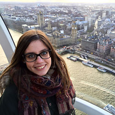 Teresa Paz Moraga is an MSc Clinical Optometry student