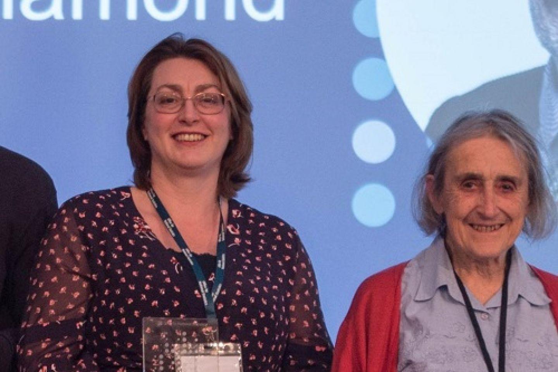 Rachel Plachsinksi and Professor Alison Macfarlane at the ONS Capability 2021 event