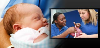 Midwifery page banner