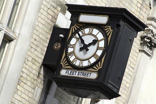 Fleet Street clock