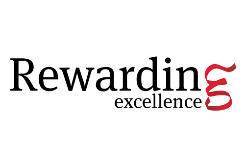Rewarding excellence logo