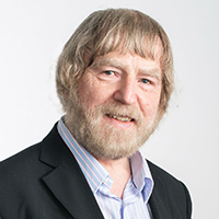 portrait of Professor Peter Bishop