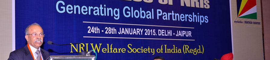 Professor Ranjan Banerjee speaks at a conference