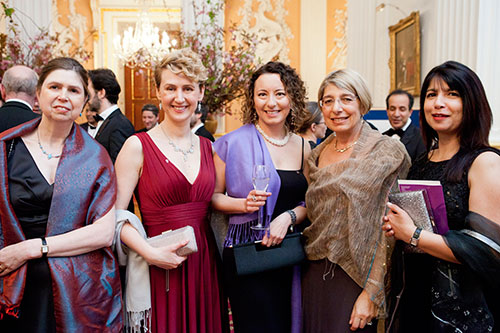 Guests at the 2016 Chancellor's Dinner