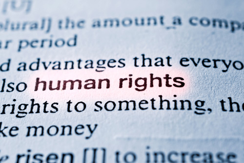 Human Rights in a dictionary