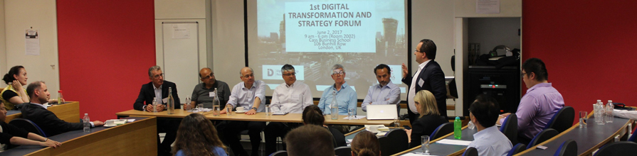 Participants at the digital transformation and strategy forum