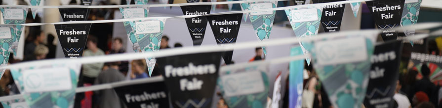 Freshers' Fair hero image