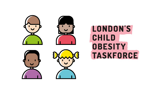 London's Child Obesity Taskforce logo