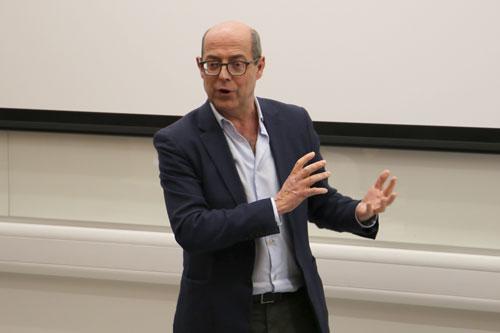Nick Robinson, Lord Kinnock and top Lobby journalists address City students