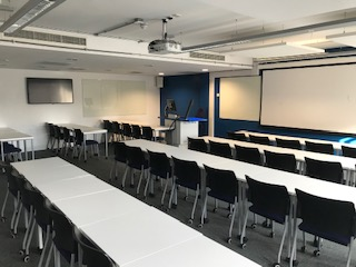 View of lecture room