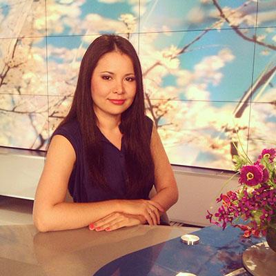 Dinara Saruar is an alumni ambassador