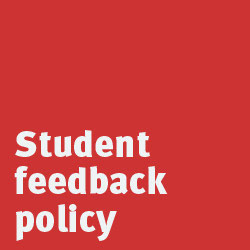 student feedback policy