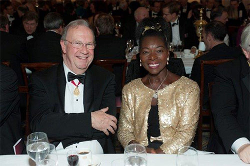 Guests including Floella Benjamin at the VC's Dinner