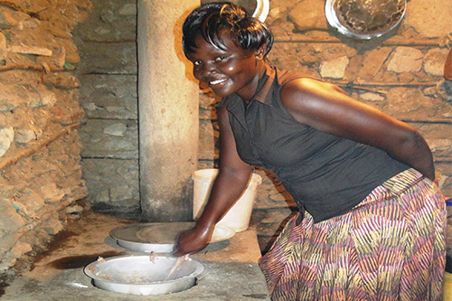 Cooking stove earns high SCORE