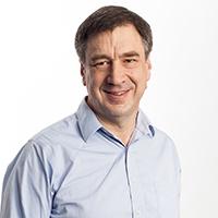 portrait of Dr Ross Paterson