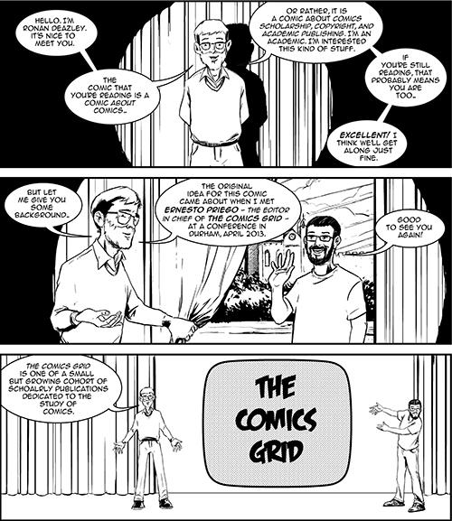 Ernesto Priego comic strip