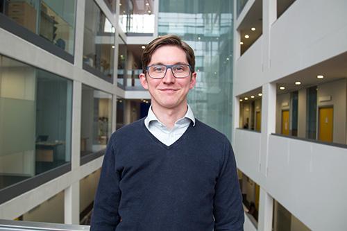 City University London staff member Ben Butler