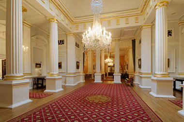 The lobby at Mansion House