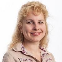 portrait of Kateryna Netkachova