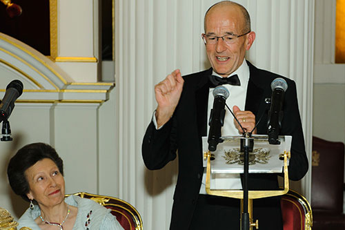 Professor Paul Curran and HRH the Princess Royal chancellor's dinner
