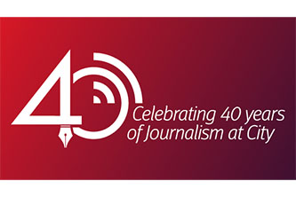 Celebration 40 years of Journalism at City