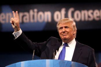Donald Trump. UK US trade