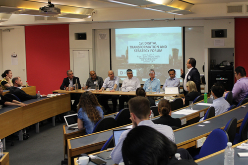 Experts convene for inaugural Digital Transformation and Strategy Forum at Cass Business School