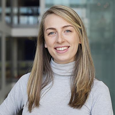Lizzie Rankin is International Recruitment Officer