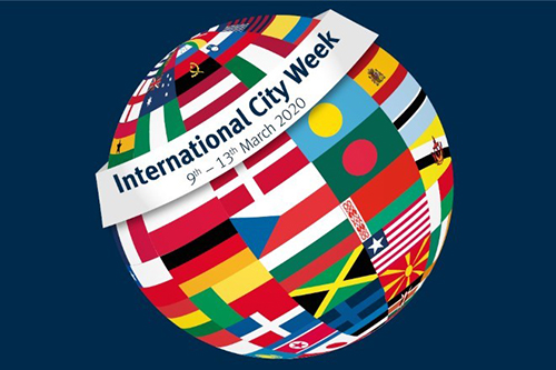 International City Week 2020, 9th to 13th March.