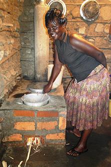 Kenya stove portrait