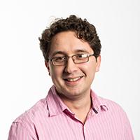 portrait of Dr Ilir Gashi