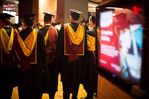 A celebration of success at City's January graduation