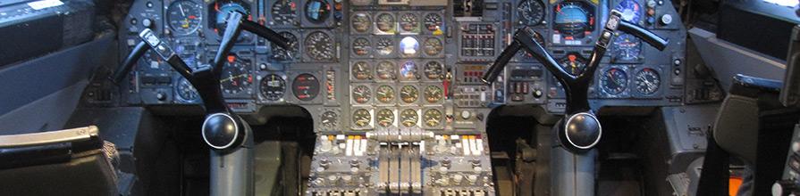 Concord cockpit