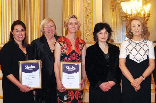 Dr Katerina Hilari given award