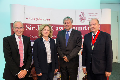 Professor Sir Adrian Smith delivers 10th Annual Sir John Cass Foundation lecture at Cass