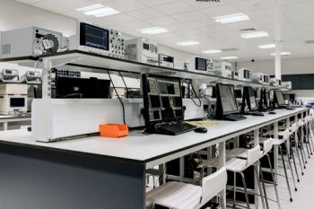 Keysights: computers and equipment at City's electrical engineering lab