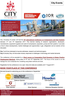 10th International Conference on Compressors and their Systems