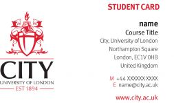 Student business cards city university of london to help you with networking you can now order student business cards reheart Gallery