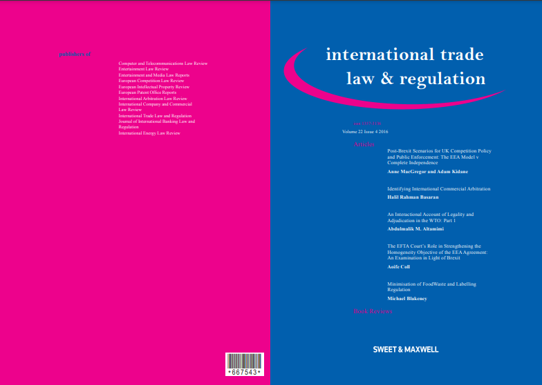 Download our International Trade Law Regulation PDF